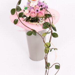bouquet rosa_cuore